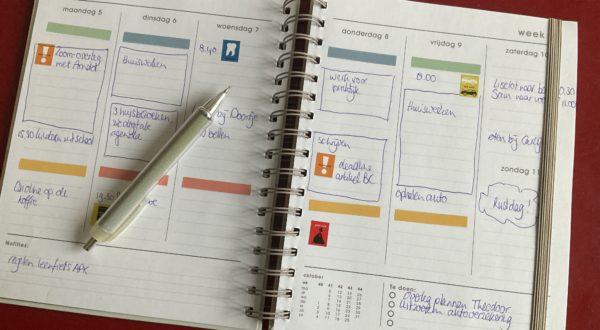 Timemanagement, effectief agendabeheer, overzicht