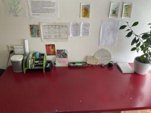 Opgeruimd bureau